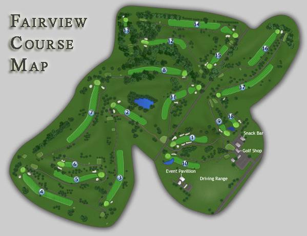 Fairview Map Course Tour Fairview Golf Course