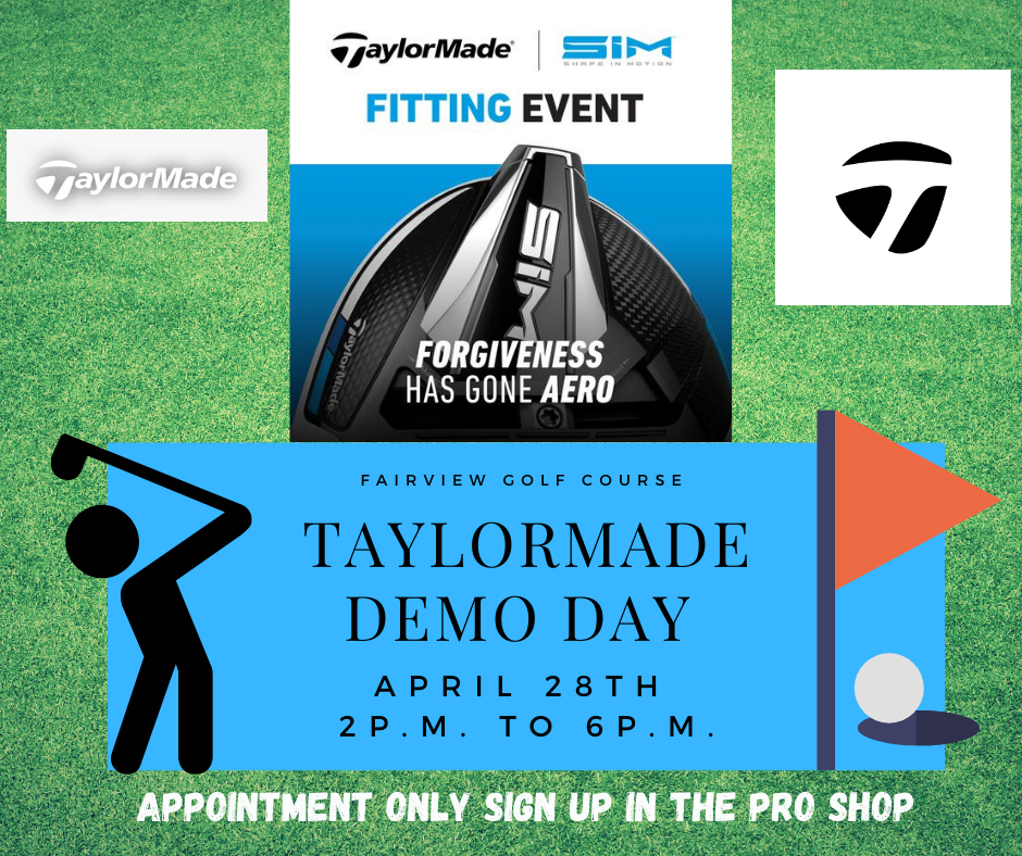 Taylor Made Demo Day April 28th